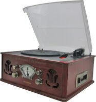 SYLVANIA RETRO STYLE TURNTABLE - An Awesome Fathers Day Idea !!