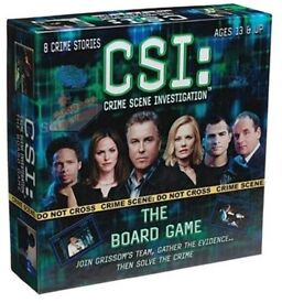 CSI: Crime Scene Investigation The Board Game (sealed)