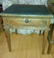 Antique Rustic side table