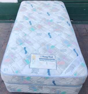 Excellent King Koil Brand king single bed set for sale