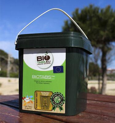 Bio Tab (BioTabs 100 organische Düngetabletten für Wuchs und Blüte Düngetabs Düngertabs)