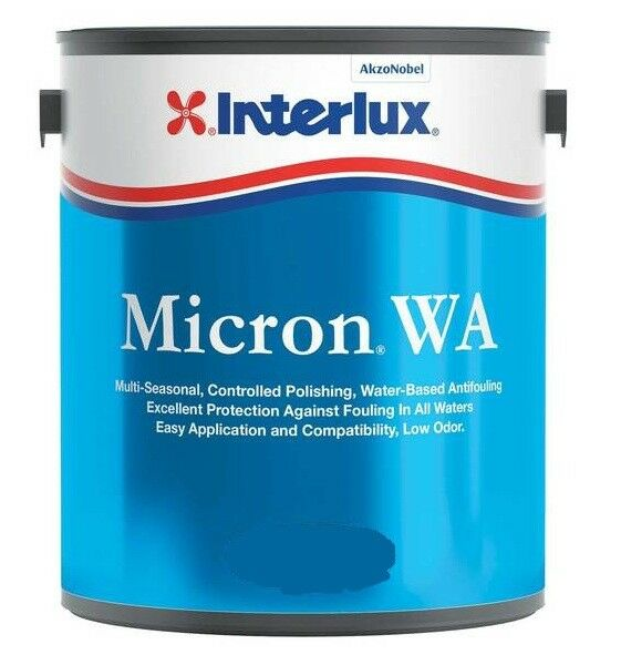 Interlux Micron WA Multi-Season Antifouling Bottom Paint Boat Red Quart 6102QT