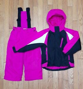 Girls size 4 winter jacket and snow pants