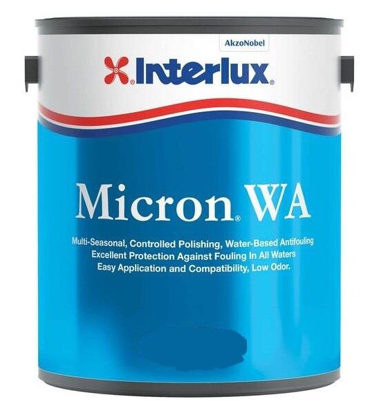 Interlux Micron WA Multi-Season Antifouling Bottom Paint Boat Red Gallon 6102G