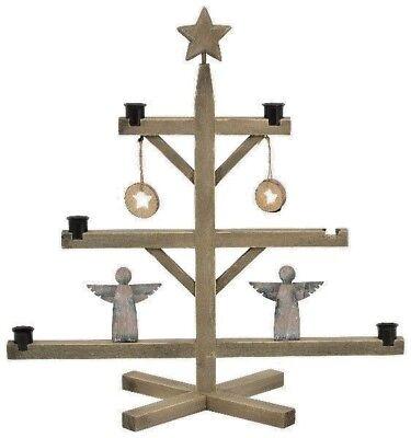 Kerzenhalter Pyramide mit Engel 50x50cm Advent Weihnacht gebraucht kaufen  Stuttgart