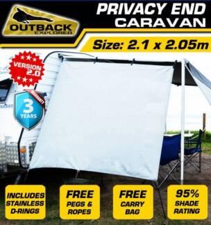 Outback Explorer Privacy End - Caravan 2.1 X 2.05m