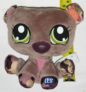 Littlest Pet Shop Plush Bear Toy