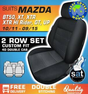 True Fit Custom Fit Seat Covers - Mazda BT50 XT, XTR, XTR HI Ride