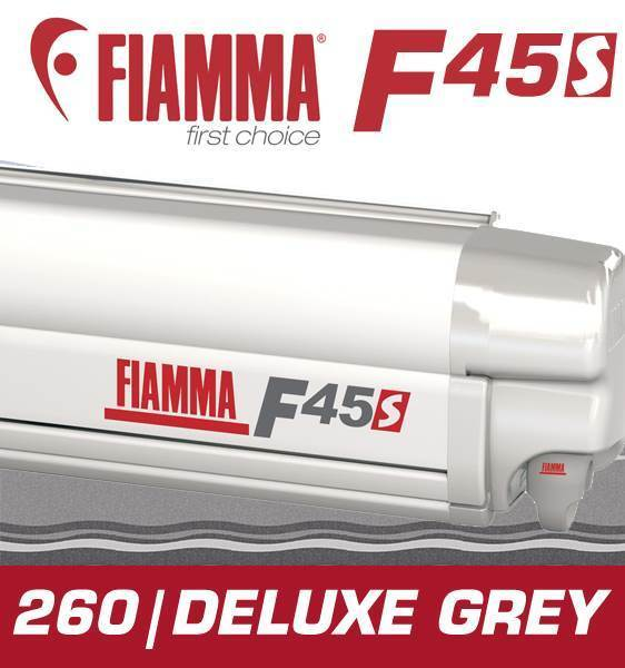 FIAMMA POLYSTEP GREY FOR CARAVANS CAMPERVANS AND MOTORHOMES