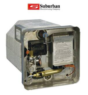 Suburban Hot Water Heater Gas & 240v Electric (Sw6dea)