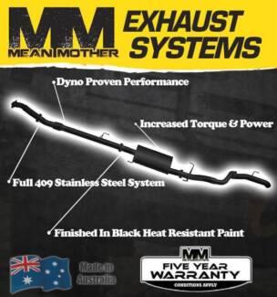 Exhaust System - To Suit Toyota PRADO 120 Series Feb - 03 Jan - 0