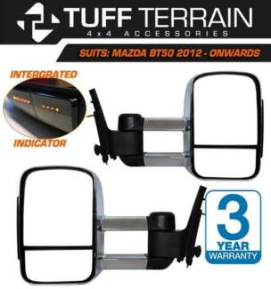 Extendable Towing Mirror For Mazda BT50 2012 - Onwards