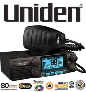 Uniden 12/24v Din Mobile Uhf Cb Mobile With Masterscan