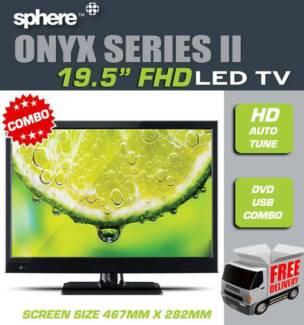 "Sphere Onyx S2 19.5"" Hd Led Tv Dvd Combo"