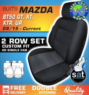 True Fit Custom Fit Seat Covers - Mazda BT50 GT, XT, XTR - UR