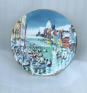 "Grand Canal Venice Royal Doulton 10-1/4"" Collector  Plate Belleville Belleville Area image 4"