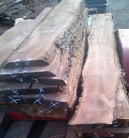 Price for live edge slabs,walnut,black cherry,cherry,ash,maple