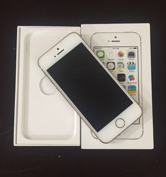 IPHONE 5S 16GB GOLD BOXED WITH ACCESSORIESin Leicester, LeicestershireGumtree - IPHONE 5S 16GB GOLD BOXED WITH ACCESSORIES works on VODAFONE networkIn fully working order apart from Touch ID and power button The iCloud has been removed & I have factory reset the phone COMES BOXED WITH USB CABLE, CASE, SIM PIN AND SCREEN...