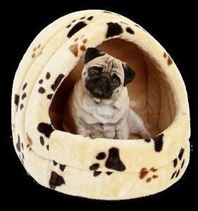 Igloo nicchia con cuscino cuccia letto x cani e gatti l34 - Letto per cani ...