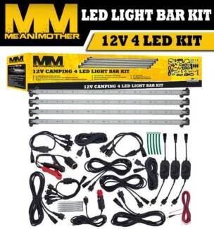 Led light bar other parts accessories gumtree australia mean mother led light bar kit mozeypictures Choice Image