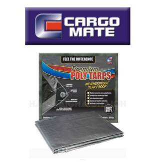 Cargo Mate Poly Tarp Heavy Duty  16' X 20'(4.8 X 6.1m)