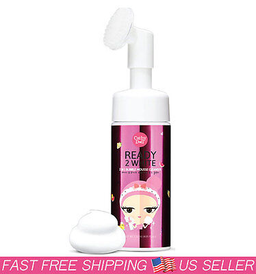 K-Beauty [Cathy Doll] Ready 2 White 2-in-1 Bubble Mousse Cleanser 120ml ()