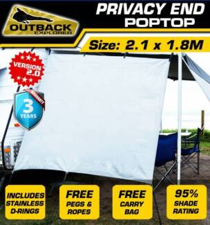 Outback Explorer Privacy End - Poptop 2.1 X 1.8m