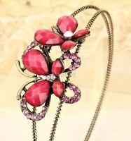 Sakorski crystal butterfly headband ----NEW!!