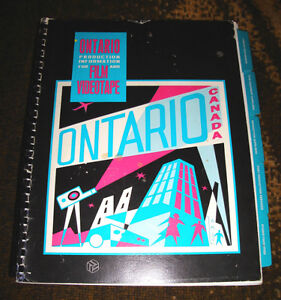 1991 to 1992 ONTARIO FILM & VIDEO PRODUCTION INFORMATION BOOK