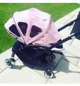 Bugaboo bee 3 breezy pink hood canopy