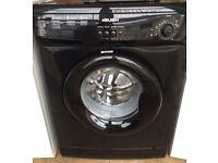 Black washing machine 3 month guarantee