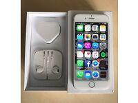 iPhone 6, 128gb, Silver, Unlocked, Ex. Cond.