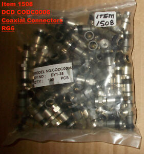 DCD coaxial cable CODC0006 cable connectors waterproof