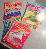 Lot de livres d'activités et albums pour enfant 0-6 ans