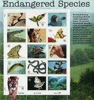 1995 American Endangered Species Sheet