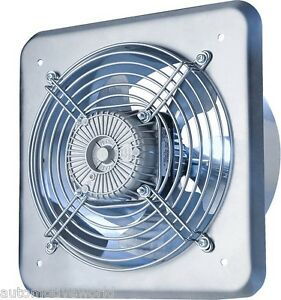 Industrial extractor fan ducting 210mm 240v 470m3 - Commercial grade bathroom exhaust fans ...