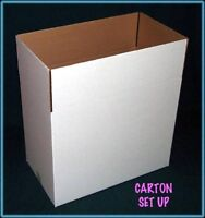 White CORRUGATED SHIPPING CARTONS (NEW)