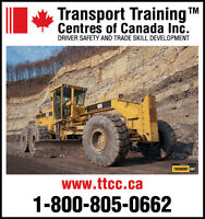 Canada's Largest Provider of Heavy Equipment Operator Training!!