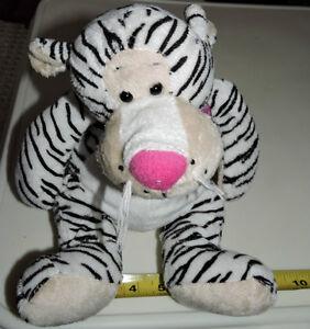 Black & White Tiger Soft Plush Stuffed Toy London Ontario image 1