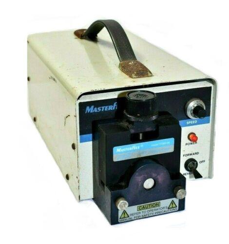 Cole-Parmer Masterflex 7520-25 Peristaltic Pump w 77390-00 PTFE Tubing Pump Head