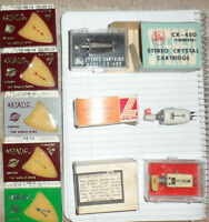 NOS Vintage  40s thru 70s Turntable Needles & Cartridges