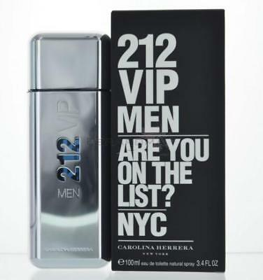Carolina  Herrera 212 Vip Men For Men Eau De Toilette 3 4 Oz 100 Ml Spray