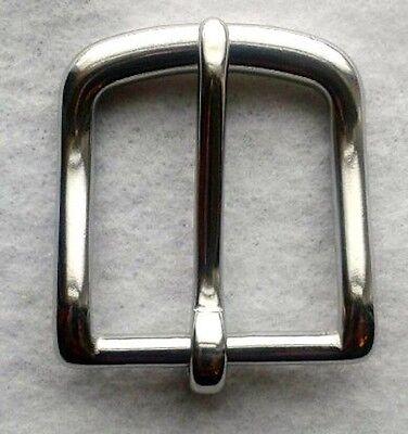 """1-1/2"""" Stainless Steel Belt Buckle Nice See"""