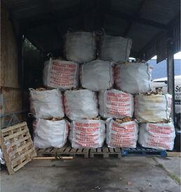 Hard wood logs for sale dry seasoned split LEEDS firewood log burner, soft wood also available