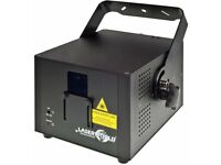 Laser world cs2000 2watt rgb laser