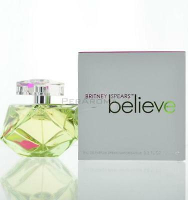 Believe By Britney Spears For Women  Eau De Parfum 3.4 OZ 100 ML Spray