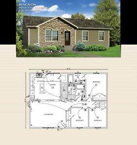 Own a Brand New 3 bdrm, 2 bath Home for only $174,500 HST incl.