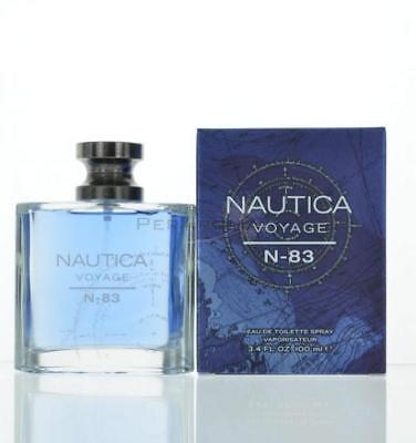 Voyage N83 By Nautica  Eau De Toilette 3.4 Oz 100 Ml Spray