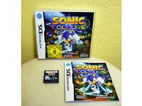"""Nintendo DS / DSi Spiel """"Sonic Colours"""" Sachsen - Taucha Vorschau"""