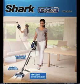 SHARK Rocket HV320UKCO Light-Weight Upright Bagless Vacuum Cleaner